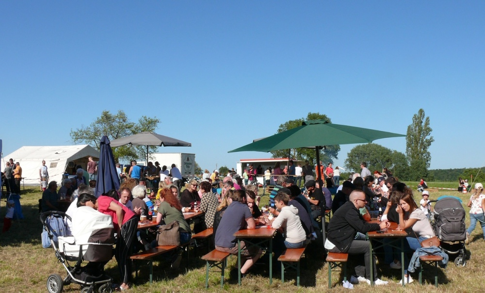 Ein Bombenerfolg mit vielen Besuchern wurde gleich das erste Grill & Chill Event